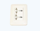 2 Universal receptacle set
